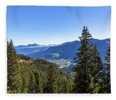 Kleinwalsertal, Austria Fleece Blanket