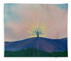 Komorebi Fleece Blanket
