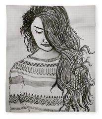 Kriya Fleece Blanket