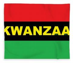 Kwanzaa Fleece Blanket