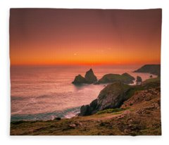 Kynance Cove Fleece Blanket