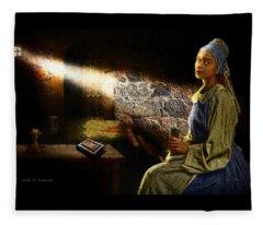 Lady In Waiting Fleece Blanket