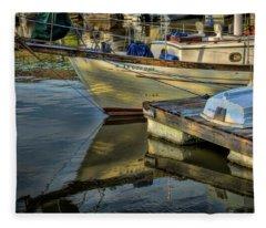 Lake Dardanelle Marina Fleece Blanket