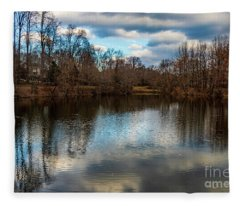 Lake Helene Winter Fleece Blanket