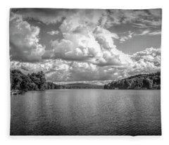 Lake Sunapee Fleece Blanket