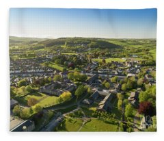Lampeter From The Air Fleece Blanket