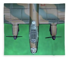 Lanc Model Fleece Blanket
