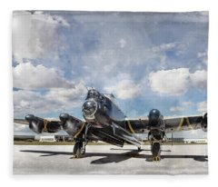 Lancaster Engine Test 2 Fleece Blanket