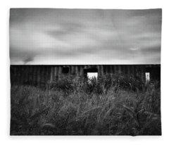 Land Of Decay Fleece Blanket