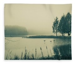 Landing IIi Fleece Blanket