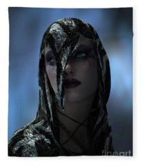 lapis Lazuli Fleece Blanket