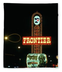 Las Vegas 1984 #12 Fleece Blanket