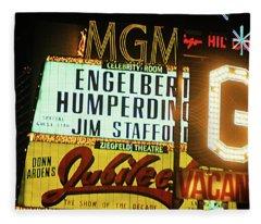 Las Vegas 1984 #3 Fleece Blanket