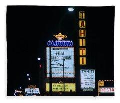 Las Vegas 1984 #4 Fleece Blanket