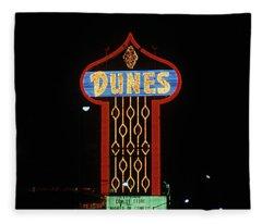 Las Vegas 1984 #7 Fleece Blanket