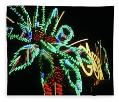 Las Vegas 1984 #9 Fleece Blanket
