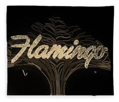 Las Vegas 1984 Sepia #11 Fleece Blanket