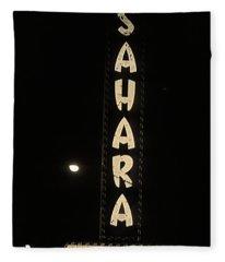 Las Vegas 1984 Sepia #14 Fleece Blanket