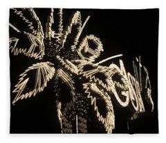 Las Vegas 1984 Sepia #9 Fleece Blanket