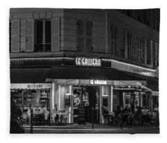 Fleece Blanket featuring the photograph Le Galliera by Randy Scherkenbach
