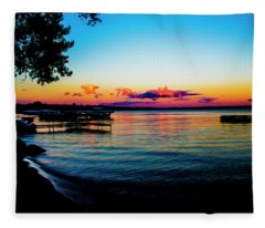 Leech Lake Fleece Blanket