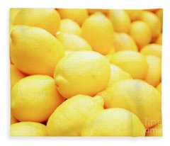 Lemon Fleece Blanket
