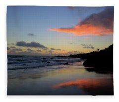Leo Carrillo Sunset II Fleece Blanket