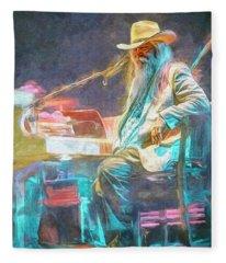 Leon Russell Fleece Blanket