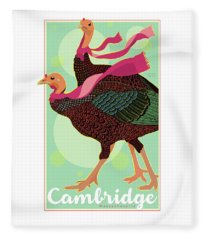 Les Foulards De Cambridge Fleece Blanket