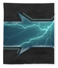 Lightning-centric Fleece Blanket