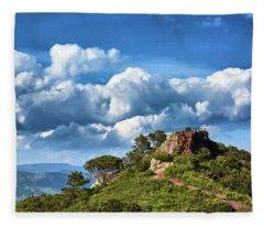 Like Touching The Sky Fleece Blanket