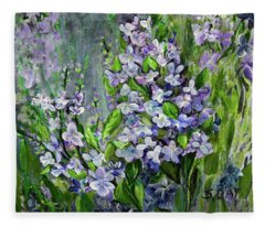 Lilac Dream Fleece Blanket