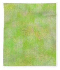 Lime Batik Print Fleece Blanket