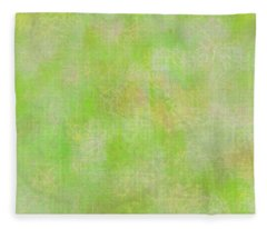 Lime Batik Print Fleece Blanket