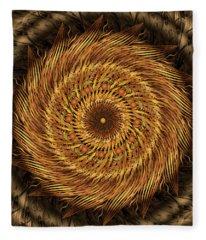 Listen To The Wind Fleece Blanket