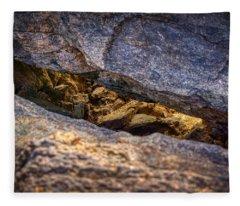 Lit Rock Fleece Blanket