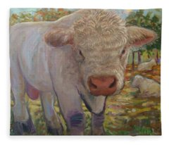 Little Big Bull Fleece Blanket