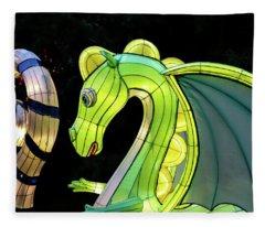 Little Dragon Fleece Blanket