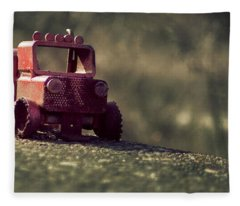 Little Engine That Could Fleece Blanket