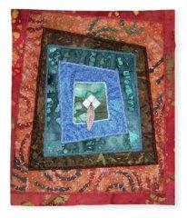 Little Feather Fleece Blanket