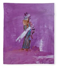 Little Indian Angel Fleece Blanket