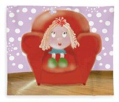 Little Ms Fleece Blanket