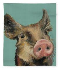Little Piglet Fleece Blanket