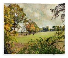 Little Timber Ranch Berlin New Jersey Fleece Blanket