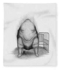 Loaded - Artwork  Fleece Blanket