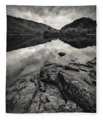 Loch Beinn A Mheadhoin Fleece Blanket
