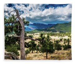 Lone Tree II Fleece Blanket