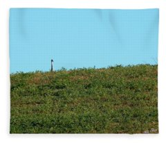 Lonely At The Top Fleece Blanket