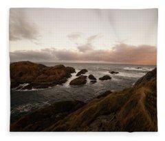 Long Exposure Arctic Fleece Blanket