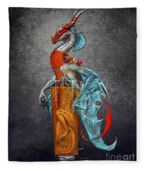 Long Island Ice Tea Dragon Fleece Blanket